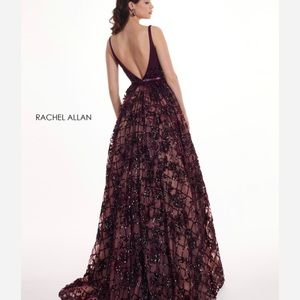 Rachel Allen Dress Size 4- Royal Purple